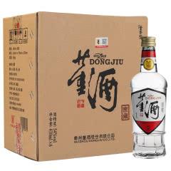 董酒白标54度430ml*6瓶箱装董香型白酒新老包装随机发货