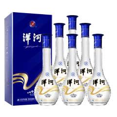 52°洋河 晶之藏 口感绵柔型高度白酒500ml*6 整箱装(内含三支礼袋)