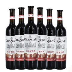 张裕解百纳优选级蛇龙珠干红葡萄酒6瓶整箱