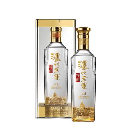 瀘州老窖特曲晶彩52度 500ml單瓶裝濃香型高度糧食白酒 婚宴送禮