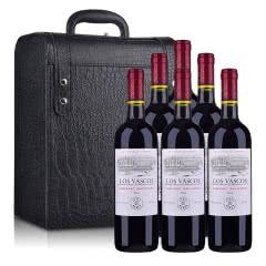 智利拉菲罗斯柴尔德巴斯克卡本妮苏维翁(又名:华诗歌)红葡萄酒750ml*6(六支装红酒礼盒)