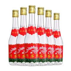 西凤酒45度凤香型陕西白酒 粮食酒七两半375ml*6瓶