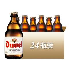 比利时进口督威啤酒金色艾尔烈性啤酒Duvel330ml*24