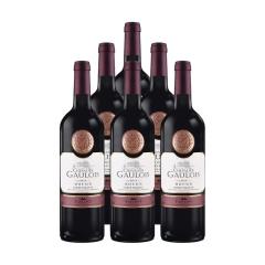 法国高卢骑士干红葡萄酒(6瓶装)