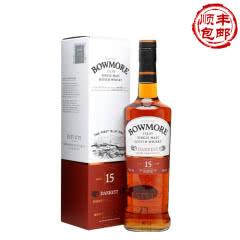 40°英国波摩15年单一麦芽威士忌酒700ml