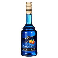 24°法国必得利(Bardinet)原瓶原装进口洋酒蓝香橙味力娇酒 700mL