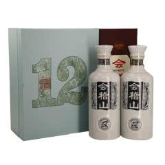会稽山绍兴黄酒礼盒双瓶十二年陈花雕加饭酒500ml*2