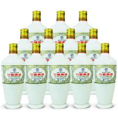老酒 45º竹叶青酒 瓷瓶 五年熟成 500ml (12瓶装) 2008年