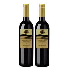 意大利原瓶进口LEROVILE系列蒙特普恰诺红葡萄酒750ml*2两支装