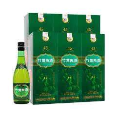 45°汾酒杏花村竹叶青牧童竹叶青酒露酒475ml(6瓶装)
