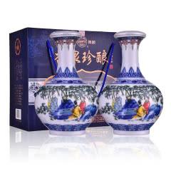 48°杏花村汾酒集团A20杏泉珍酿典雅礼盒装(优级)2016年 850ml(2瓶装)