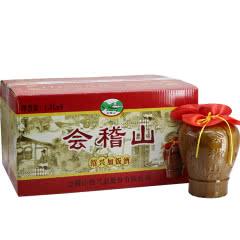 绍兴黄酒会稽山坛加饭酒15.5°半干型黄酒1500ml*6