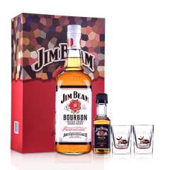 40°美国白占边波本威士忌礼盒