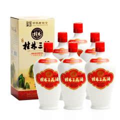 52°珍品瓷瓶桂林三花酒米香型白酒450ML(6瓶装)
