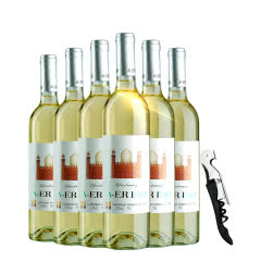 法国进口干白奥尔堡干白葡萄酒750ml*6