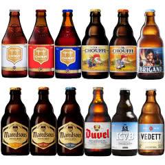 比利时进口督威智美马里斯等烈性精酿啤酒组合330ml*12