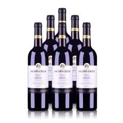 澳大利亚杰卡斯经典系列梅洛干红葡萄酒750ml(6瓶装)