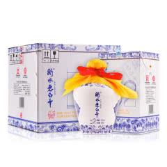 52°衡水老白干青花小瓷坛酒500ml(4瓶装)
