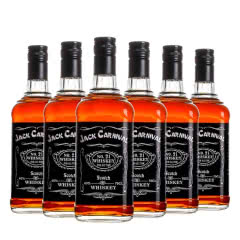 爆款组合嘉士华洋酒XO白兰地干邑烈酒洋酒威士忌水晶瓶礼威士忌700ml*6