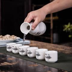 陶瓷家用白酒黄酒日式仿古酒具酒壶套装酒瓶酒壶七件套特价包邮