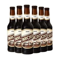 布鲁杰克瓶装黑啤500ml*6瓶整箱捷克原装进口