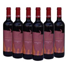 张裕美牛干红葡萄酒西班牙原装进口750ml(6瓶装)
