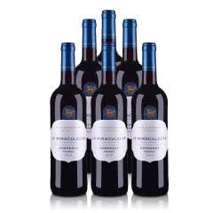 法国光之颂亿幻境系列波尔多红葡萄酒750ml(6瓶装)