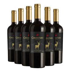 智利进口红酒整箱中央山谷产区窖藏迷鹿系列干红750mlx6