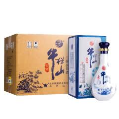 牛栏山北京二锅头 白酒整箱 清香型纯粮食酒水 42度典藏十五 500ml*6瓶