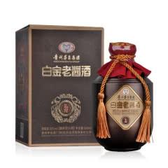 53°贵州茅台集团 白金老酱酒礼宾酒 酱香型白酒单瓶坛装500ml