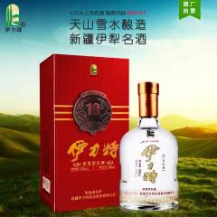 [酒厂直营]52度伊力特十年珍藏500ml*1瓶 新疆高度白酒浓香型