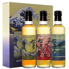 松井单一麦芽威士忌 日本威士忌原装进口日本酒 日本橡木木桶味+樱花木桶味+泥煤味