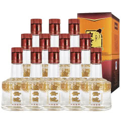 白云边酒四星陈酿浓酱兼香型白酒250ml 12瓶整箱装