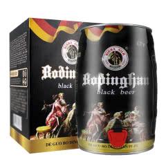 德国精酿工艺啤酒 礼盒装 5L麦香原浆畅饮大桶黑啤5000ml