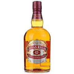 40°英国芝华士12年苏格兰威士忌500ml