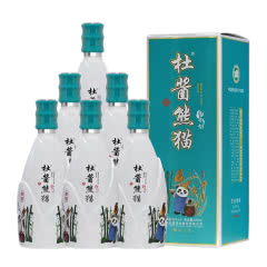 【杜酱】53°杜酱熊猫酒/酣熊(带杯)500ml*6整箱 香柔 酱香型白酒【酱酒核心产区】