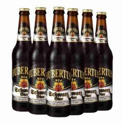 狩猎神(HUBERTUS)德国原装进口瓶装黑啤酒500ml(六连包)