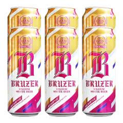 比利时原装进口啤酒巴利特小麦白啤500ml*6听装