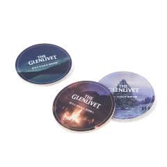 格兰威特杯垫(内含三个杯垫)