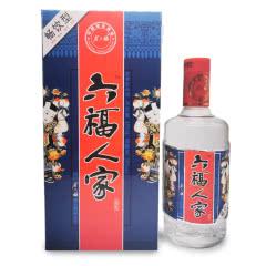 50°金六福六福人家畅饮型475ml(2007年)