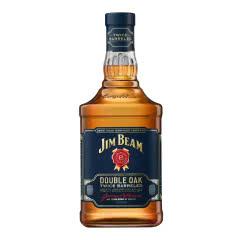 金宾洋酒(Jim Beam)进口洋酒 美国双桶波本威士忌750ml