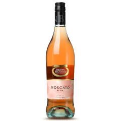 澳大利亚原瓶进口葡萄酒 布琅兄弟莫斯卡托桃红 单支 750ml