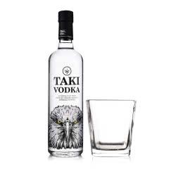 40°TAKI达奇伏特加700ml+四方古典玻璃杯