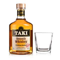 40°TAKI达奇威士忌700ml+四方古典玻璃杯