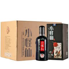 42°江苏洋河镇浓香型白酒纯粮原浆酒水小怪仙 送手提袋 500ml*6