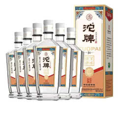 52°沱牌舍得 百味酒坊K9 浓香型白酒礼盒装500ml送3个礼品袋(6瓶装)