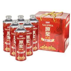 萨罗娜原浆精酿白啤1L*6瓶啤酒 11度扎啤手提礼盒装整箱啤酒