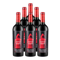 西班牙奥兰小红帽陈酿干红葡萄酒750ml*6瓶整箱装