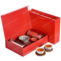 一罐茶大罐多泡装武夷大红袍正岩肉桂礼盒装茶叶