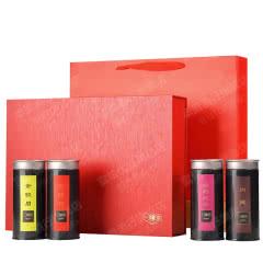 一罐茶武夷大红袍金骏眉黑罐茶叶礼盒装